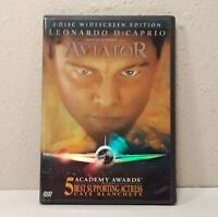 The Aviator (DVD, 2005, 2-Disc Set, Widescreen) Leonardo Dicaprio, Cate Blanchet