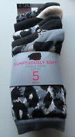 Marks & Spencer Ankle Socks Sumptuously Soft 5 Pack Animal print socks 3/5 6/8