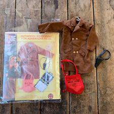 Vintage Hasbro GI Joe Adventure Team # 7375 Secret Agent Set Action Outfit
