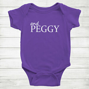 And Peggy Gift Fans Hamilton Musical Cute Baby Infant Bodysuit