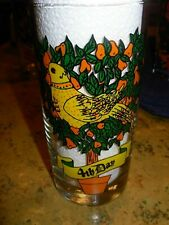 12 Twelve Days of Christmas Drinking Glass #4 Colly Birds Replacement