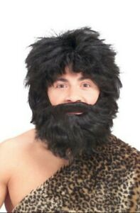 Faux Beard Mustache Economy - Short - Straight - Costume Accessory - 3 Colors