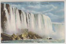 "Canada postcard - Horseshoe Falls from Deck of ""Maid of the Mist"", Niagara Falls"