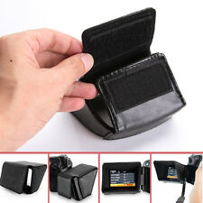 """3"""" LCD FLIP-OUT Screen Sunshield Hood Cover for Canon Nikon SLR Camera Camcorder"""
