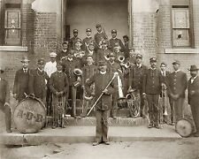 Brass marching band 1899 African Americans photo CHOICES 5x7 or request 8x10 or
