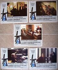 US (5) LC Lobby Card BLACK WINDMILL Michael Caine Film Movie poster 1974 VF (C8)