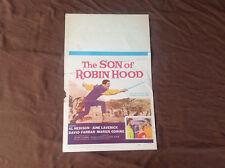 1959 The Son Of Robin Hood Original Movie House Poster