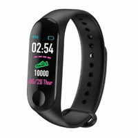 Timetech Fitness Tracker, Smart Watch, Schrittzähler Kalorienzähler schwarz B09