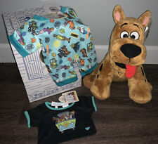 Build A Bear Scooby Doo With Sounds, Sleeper, And Shirt New