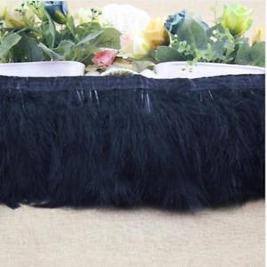 Wholesale! 1/5/10 yards Turkey Feather Dance festival party Clothing wedding