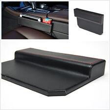 Leather Car Seat Gap Filler Car Seat Side Console Slit Caddy Catcher Storage Box