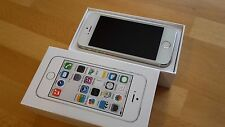 Apple iPhone 5s 64GB Silber simlockfrei + brandingfrei + iCloudfrei  WIE NEU !