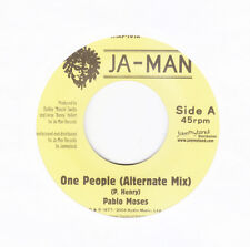 """PABLO MOSES- ONE PEOPLE - JA MAN - CLASSIC ROOTS 7"""""""