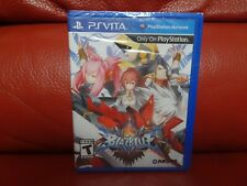 BlazBlue: Chrono Phantasma (Sony PlayStation Ps Vita, 2014) New!