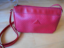 Liz Claiborne shoulder bag Red Leather Trim