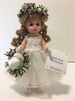 Madame Alexander Doll 🌹 Little Pearl Bridesmaid # 26800 🌹 Original Box ~