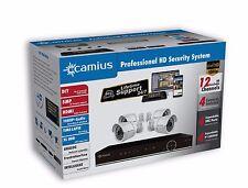 Home Security Camera System - 12CH Recorder (TVI/CVI/AHD) + (4) 1080P Cameras