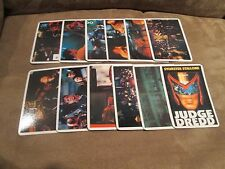 Sylvester Stallone Dredd Complete Calendar Cards Set; Mint Set of 12;