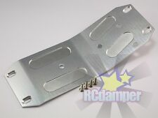 ALUMINUM LOWER CENTER SKID PLATE S HPI 1/8 SAVAGE 21 25 SS 3.5 4.6 ALLOY MIDDLE
