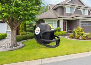 Pittsburgh Steelers Team Inflatable Lawn Helmet-NFL Lawn Football Helmet