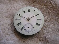 Antique Colombia Pocket Watch Movement