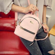Women Shoulder Bags Female Backpack Zipper PU Leather Girl Travel Casual Bags