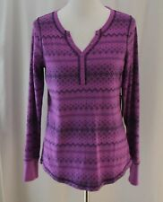Made for Life, Medium, Hon Purple, Long Sleeve Knit Top, New with Tags