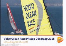"""POSTZEGELMAPJE M522 - 522  """"VOLVO OCEAN RACE PITSTOP DEN HAAG"""" 2015"""