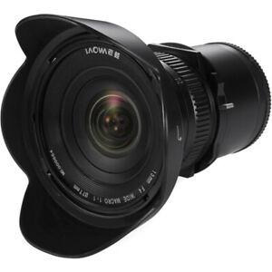 Venus Laowa 15mm f/4 Wide Angle 1:1 Macro Lens with Shift