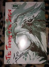 Mark Rylance Signed The Taming Of The Shrew Theatre Programme The Gunman & PROOF