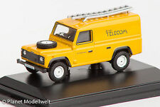 DEF005 Land Rover Defender, British Telecom, Oxford 1:76, NEU &