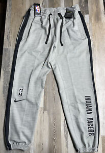 New Nike NBA Authentics Indiana Pacers Engineered Joggers Pants Men's Sz LARGE