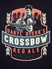 Daryl Dixon's Crossbow Red Ale Walker's Brewing Georgia Made Beer T Shirt XL