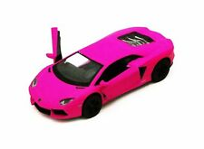 Lamborghini Aventador LP700-4, Hot Pink 5370D - 1/38 scale Diecast Model Toy Car
