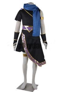 New! kid Icarus Uprising Dark Pit Cosplay Costume