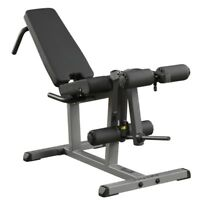 Body-Solid Seated Leg Curl & Leg Extension GLCE365 | Plate Loaded Supine Curl