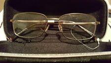 e45f06e7a633 Ermenegildo Zegna EZ5021 035 55-17-145 Gold Eyeglasses frame RRP 151£