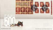 (52699) GB FDC Penny Red Booklet London WC1 2016
