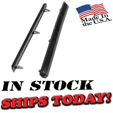 Fits 70 71 72 Challenger Front Rubber Bumper Guards New W STEEL CORES