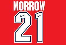 Morrow #21 Arsenal Camisa de fútbol local para hogar 1994-1995