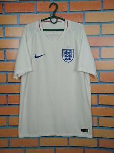 England Jersey 2018 2019 Home LARGE Shirt Nike 893868-100