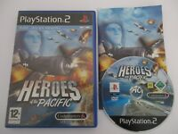 HEROES OF THE PACIFIC - SONY PLAYSTATION 2 - Jeu PS2 Complet PAL Fr