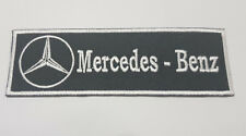 MERCEDES BENZ AUTO embroidered badge Patch 4x12 cm