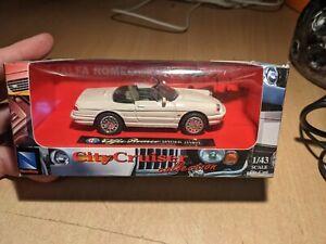 City Cruiser Alfa Romeo Model Diecast Car