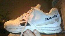 Babolat SFX All Court Men's Tennis Shoes sz. 9 White black