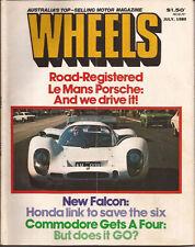 Wheels Jul 80 Volvo 244 WB VC Commodore 323i e21 504