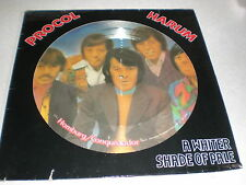 "Procol Harum 12"" A Whiter Shade Of Pale PICTURE DISC"