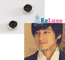 Korean boys over flowers Round Magnetic Magnet Non-Pierced No Piercing Earrings