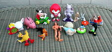 Mixed Lot of Tv, Television & Movie Toys Mickey Mouse, Rugrats, Bigbird & More