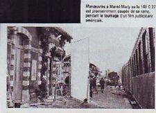 1982  --  TOURNAGE EN GARE DE MAREIL MARLY  P937